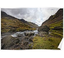 Llanberis Pass Snowdonia National Park Poster