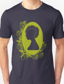 Vintage Punk Cameo Yellow Unisex T-Shirt