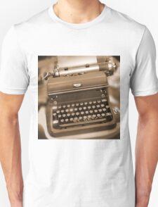 Royal Typewriter Unisex T-Shirt