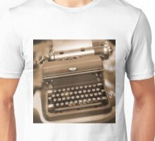 Royal Typewriter Unisex T-Shirt