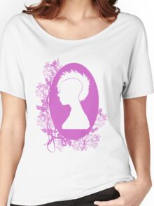 Vintage Punk Cameo Lavander Women's Relaxed Fit T-Shirt