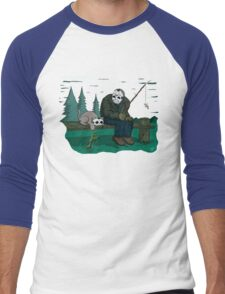 Jason's Cat (Specially Detailed) Men's Baseball ¾ T-Shirt