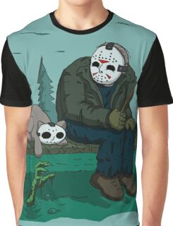 Jason's Cat (Specially Detailed) Graphic T-Shirt