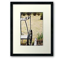 Vintage Trolley Framed Print