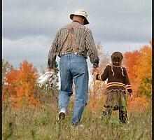Fall Moments on Grandpa's Farm by Groovydawg