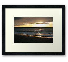 Gore Bay Sunrise Framed Print