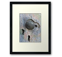 Turning the Key on History - Rosedale, Victoria Framed Print