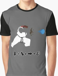 Vector Hadoken  Graphic T-Shirt