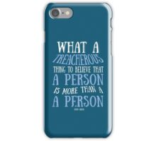 PAPER TOWNS QUOTE iPhone Case/Skin