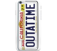 BTTF OUTATIME iPhone Case/Skin
