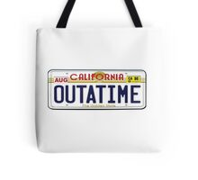 BTTF OUTATIME Tote Bag