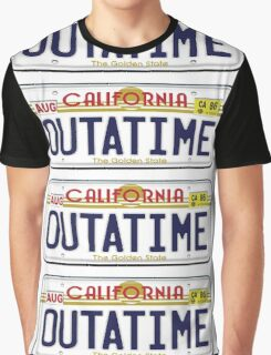 BTTF OUTATIME Graphic T-Shirt