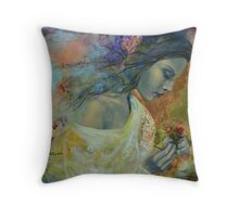 Poem at Twilight Throw Pillow