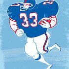 American Footballer by drawgood
