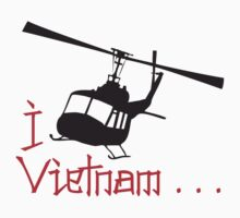 I LOVE VIETNAM T-shirt by ethnographics