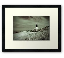 Lighthouse at Spurn Head Framed Print