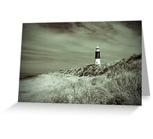 Lighthouse at Spurn Head Greeting Card