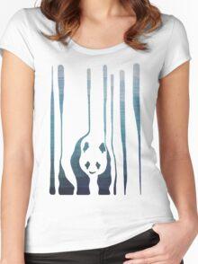 Panda's Way Women's Fitted Scoop T-Shirt