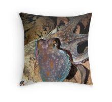 Squid-Man Throw Pillow