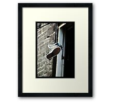 Sneaking Around Framed Print