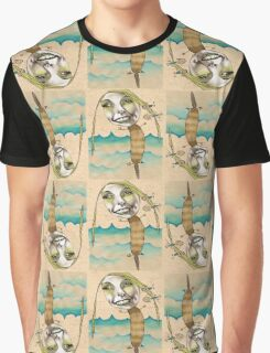Platypus with People Hairclips Graphic T-Shirt