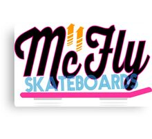 mc fly skateboards  Canvas Print
