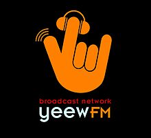 yeewFM iPhone & iPod Cover - Large Logo by chuffed