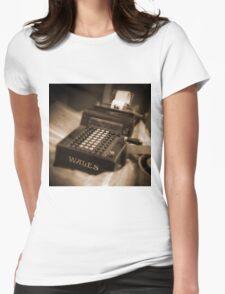 Adding Machine Womens Fitted T-Shirt