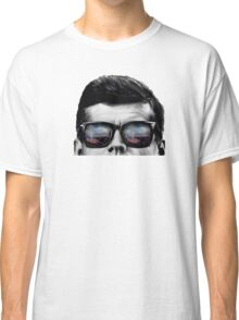 JFK Pop-Art t-shirt (black & White) Classic T-Shirt