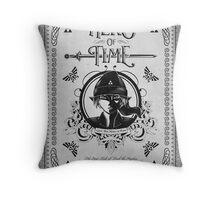 Legend of Zelda Link Hero of Time Geek Line Artly Throw Pillow