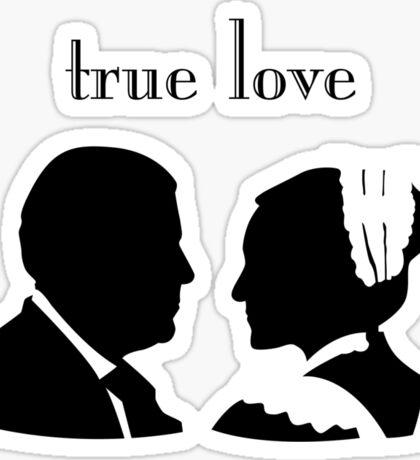 Anna and Bates true love Sticker