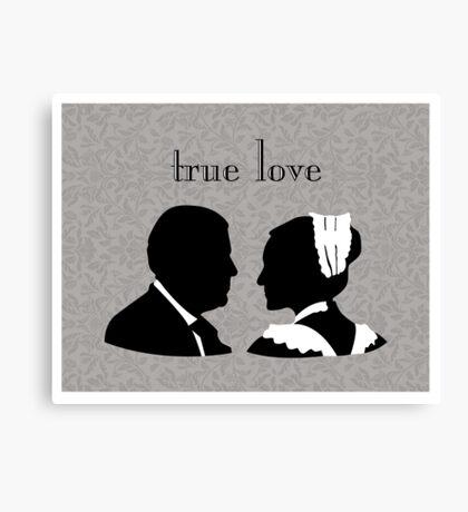 Anna and Bates true love Canvas Print