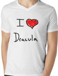 i love Halloween Dracula  Mens V-Neck T-Shirt