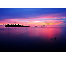 Beautiful twilight scene Photographic Print