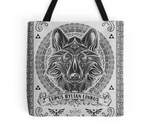 Legend of Zelda Twilight Princess Wolf Link Line Artly  Tote Bag