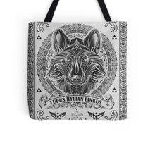 Legend of Zelda Twilight Princess Wolf Link Line Artly  Tote Bag
