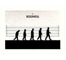 99 Steps of Progress - Boldness Art Print