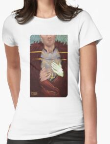Cullen Romance tarot Womens Fitted T-Shirt