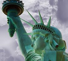 Profile of Lady Liberty by Marc Konowitz