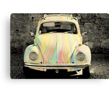groovy beetle Canvas Print