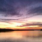 Cheshire Moon Sunset by Derek Little