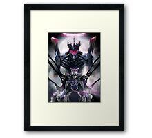 Kawrou Evangelion Anime Tra Digital Painting  Framed Print