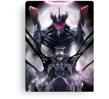 Kawrou Evangelion Anime Tra Digital Painting  Canvas Print