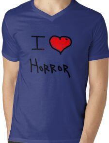 i love halloween horror  Mens V-Neck T-Shirt
