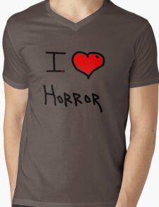 i love halloween horror  Mens V-Neck T-Shirt