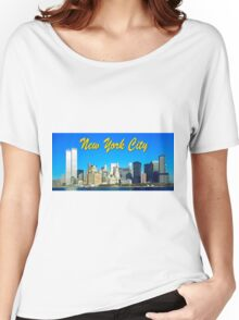 New York City Retro 1070's Photo Women's Relaxed Fit T-Shirt