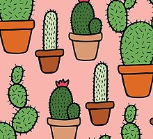 Cactus Pattern by evannave