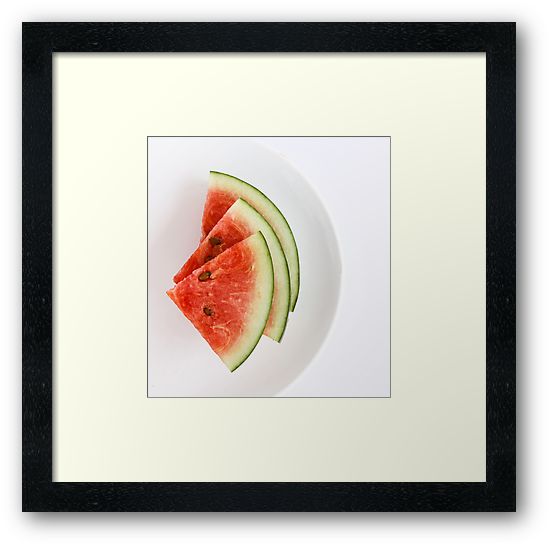 Watermelon Slices by Anaa
