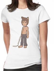 Werewolf Chibi Boy Womens Fitted T-Shirt