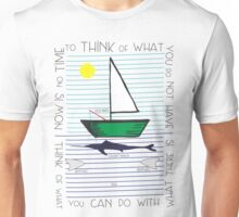 Old man and the sea Unisex T-Shirt